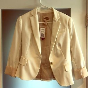 Off White Forever 21 Blazer with silk lining - S